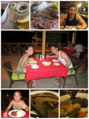 Food was not a problem. Quantity and quality = superb! :)