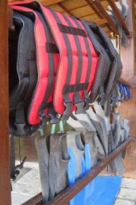 Snorkeling gear. Check.