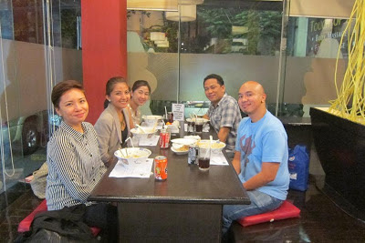 Chonx, me, Aby, Ronald and Jason