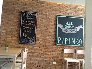 Adjacent to the main restaurant is Pipino where only vegetarian food is served.