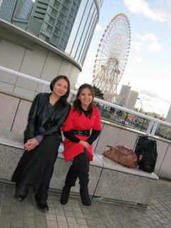 With Chonx. Pan Pacifico Yokohama.