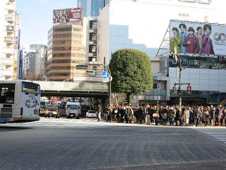 So this is where everyone is at. ShinjukuStation at a non-rush hour.