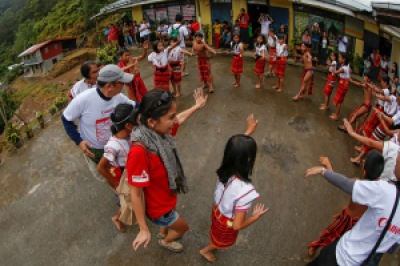 Oh yeah. This Ifugao dance I used to perform when I was in elementary. Photo by PJ Enriquez