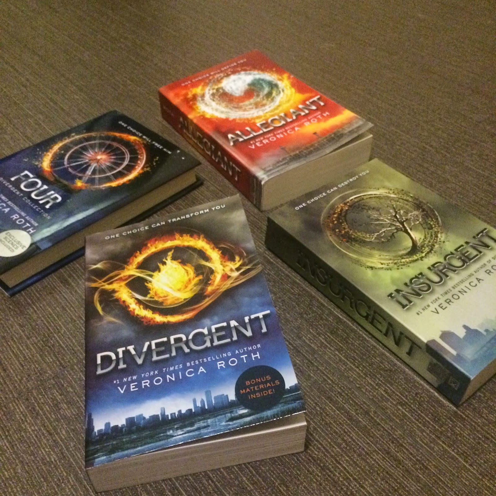 Books of the Week: Divergent Series and Four