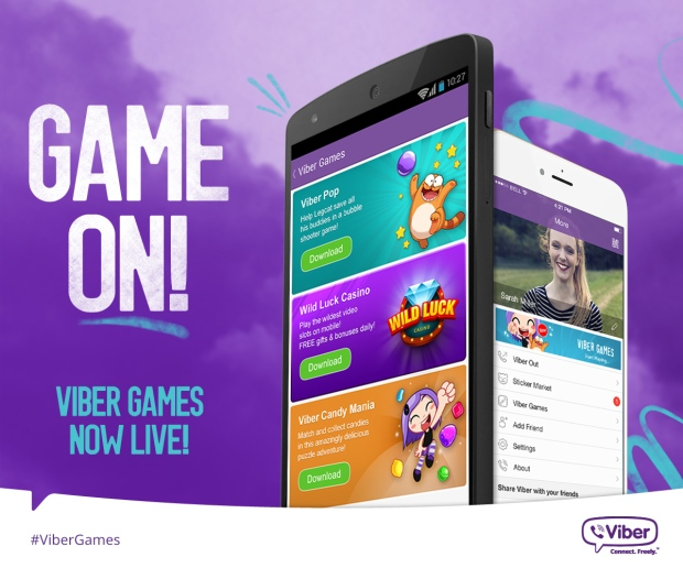 Awesome Find of the Week: Viber Games