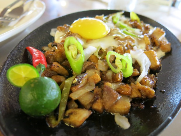 Sisig at Verde Restaurant in Loreland Farm