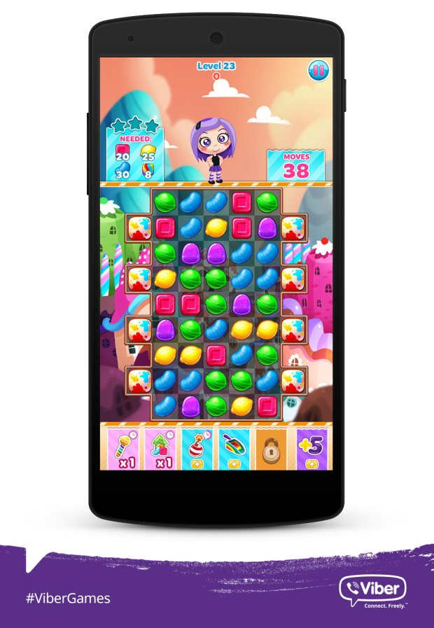 Viber Games_Candy Mania